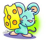 ★鼠チーズ好